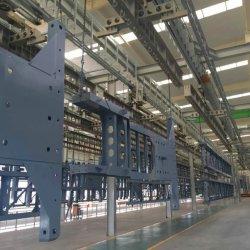 강철 도어용 자동 고속 액체/분말/E 코팅 생산 장비 라인 생산