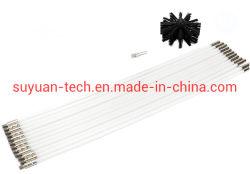 Taladro eléctrico chimenea/Lampblack Cepillo de la pared interior de la máquina se puede ampliar el cepillo de limpieza