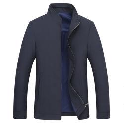 A mola nova Middle-Aged reversível homens jaquetas Casual Fino