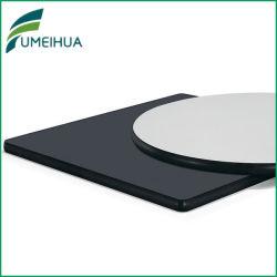 Grade solide stratifié HPL de dessus de table