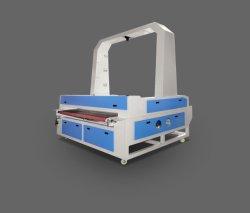 Автоматическая подача большого формата ПЗС камеры видение текстильной вышивки ткань бумаги CO2 лазерная резка машины