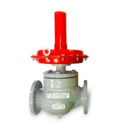 La auto-regulador de presión de funcionamiento con los extremos de brida