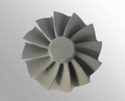 Vakuum Investment Casting Gas Turbine Wheel