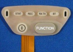 Copie de circuit flexible sur le clavier en caoutchouc