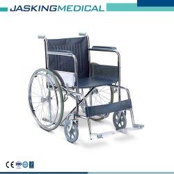 HandRolstoel van het Verchroomde Staal van de Fabriek van Foshan van de Prijs van Ce ISO de Goedkope (jx-719)