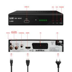 2018 наиболее востребованных H. 265 Hevc мини-Size Scart DVB-T2 Декодер цифрового наземного телевидения в Италии