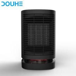 Elektrische PTC van de Ventilator van de Zaal Persoonlijke Keramiek die de Mini Zwarte Verwarmer van de Tribune 950W (dh-QN05) verwarmen