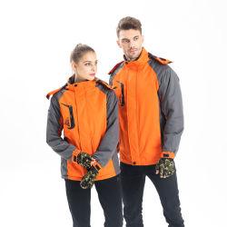 남자와 여자를 위한 새로운 디자인 형식 방풍 의복