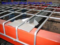 Heavy Duty almacén de revestimientos de malla de alambre para almacén Puerta Palete