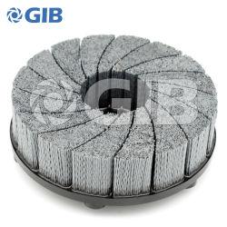150 mm-Turbine-Art-Platten-Pinsel für das Entgraten der selbstbewegenden schwarzen Farbe