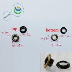 11.5mm Hot Sale la cosse à oeillet métallique ronde double face pour sac Accessoires