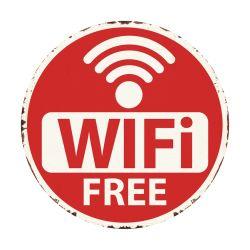 Le WiFi est omniprésent signe de métal