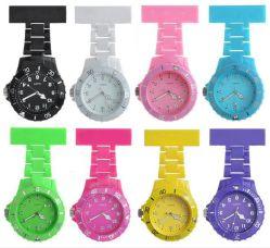 カスタム方法水晶プラスチック看護婦の腕時計(DF-MW042)