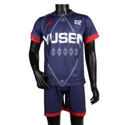 Yusen 100% Polyester sublimé Maillot de soccer de l'équipe du Club de Football uniformes