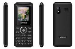 GSM van de Batterij 1.77inch 800mAh 2g Mobiele Telefoon met Dubbele SIM, met Camera, Flits van Chinese Fabriek
