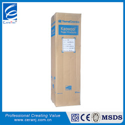 Kaowool 1260 isolamento térmico de alta temperatura papel resistente ao papel de fibra cerâmica