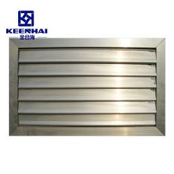 Ventilazione esterna otturatore paralume con feritoia in alluminio