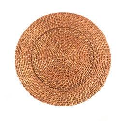 Tamaño Personalizado Renel lavable alfombra de la tabla de Rattan Natural