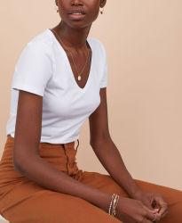 جلديّة عادة علامة تجاريّة [ف-نك] جرسيّ علبيّة [ت-شيرت] إمرأة