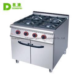 Venta de acero inoxidable caliente comercial de 4 ng/grabadora de ESTUFA de GAS GAS