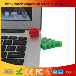 USB Flash Drive مخصص عيد الميلاد هدية تصميم محرك أقراص USB محمول PVC