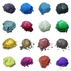 Le Mica Pearl poudre pour la peinture automobile, résine époxyde, savon, de Colorant Colorant à la bombe de bain, Craft Slime, de pigments de peinture en poudre, de dioxyde de titane Dyestuff