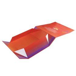 Zusammenklappbares Geschenk-kosmetisches Schokoladen-Wein-Papier-steifer verpackenkasten