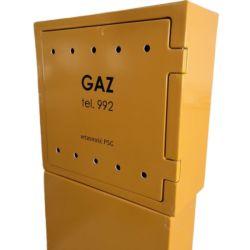 Duradero aislante plástico reforzado con fibra de vidrio PRFV FRP Cuadro de contadores eléctricos /recuadro GAS