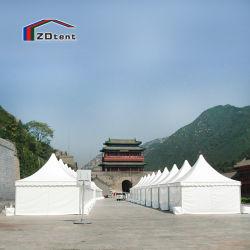 خيمة صغيرة من باغودا PVC من الألومنيوم 3x3 4x4 5x5 6x6 م من الألومنيوم خيمة الحدث