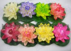 Commerce de gros artificiel Fleur de Lotus flottant Lotus Fake Factory Direct de l'artisanat