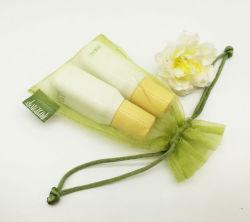 Высокое качество Organza Косметический комплект специальный мешочек с тканевая этикетка