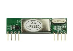 Module récepteur Superheterodyne pour alarme de voiture