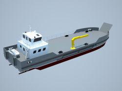 Grandsea 32m Stahl Lct Typ Fluss und Seekleine Miniöltanker-Küstenlieferung für Verkauf