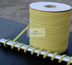 Corde Kevlar, de l'aramide Corde Kevlar, résistance à la chaleur en fibre aramide corde du Rouleau, Rouleau de four de trempe de verre Corde Kevlar