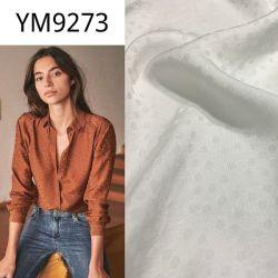 Il jacquard Ym9273 punteggia la seta come il tessuto di rayon viscoso per il vestito