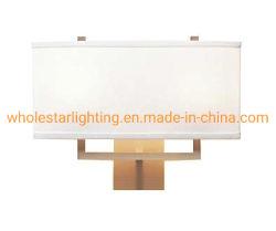 Металлический настенный светильник с ткань оттенков / Гостиница настенный светильник (WHW-811)