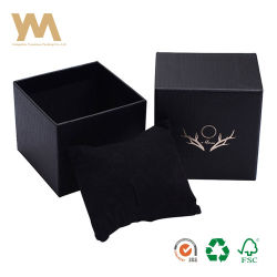Regalos personalizados de lujo Black Watch Joyería Caja de Embalaje Embalaje