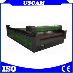 Jinan-Fertigung-Stich 80W, 100W, 130W, 150W und Ausschnitt-Maschine CO2 Laser 1325 mit Multifunktionsselbstfokus-automatischem führendem System