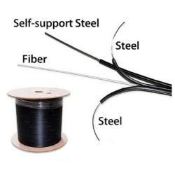 FTTH 1 Kabel van de Daling van de Vezel van 2 4 Kernen G657A de Optische
