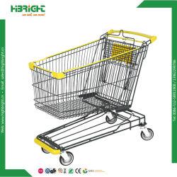 Prix de vente au détail Panier d'épicerie Chariot de supermarché