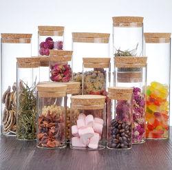 La maggior parte delle spezie popolari della caramella dell'alimento 15PC che condicono l'insieme di vetro del vaso di memoria dell'alimento