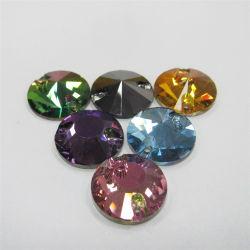 Fabricante China de todo tipo de coser en perlas de vidrio de la Piedra de Cristal