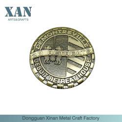 Moneta di oro commemorativa unica dell'oggetto d'antiquariato del metallo di vendita della fabbrica
