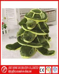 Het leuke Stuk speelgoed van de Schildpad van de Pluche van het Beeldverhaal voor de Gift van de Baby