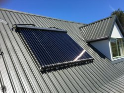 Ars Solar Keymark vidrio de doble tubo de calor de tubos de 30 Calentador Solar para Hotel
