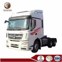 Широко используется отличное состояние 12 Уилер дизельного двигателя 50 - 60 тонн Северо-Benz V3 погрузчика на тракторе с прямым дилером