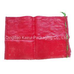 タマネギおよびポテトのための円の編むPPの網袋
