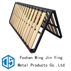 寝室の家具のアクセサリのマツスラットの金属のベッドフレーム(A017)