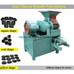 건조한 분말 석탄 연탄 탄구 압박 기계