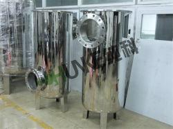 Filtro de água em aço inoxidável Industrial tipo de saco para tratamento de água